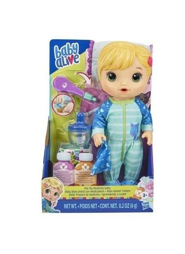 Hasbro E6937 Baby Alive Bebeğim Hasta Oldu - Sarışın /+3 Yaş Renkli